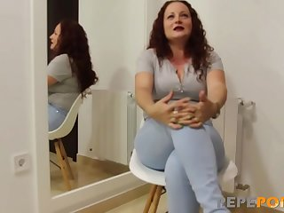 Lulu'_s husband has sent her here to HAVE HER ASS BROKEN by a young dick