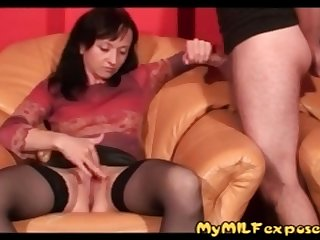 My Milf Exposed How Wife In Stocking Jercking Off Her  more on adultx.club