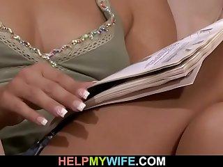 Guy fucks his young wife