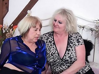AgedLovE Claire Knight and Auntie Trisha Hardcore
