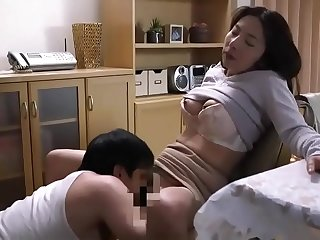 Guy can fuck the Japanese hot Milf wife at last  ReMilf.com