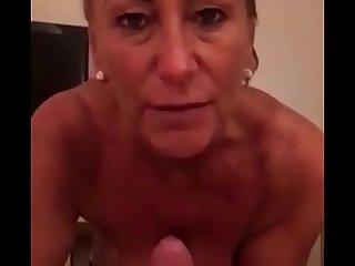 Dirty Talking Stepmom Loves Young Cum
