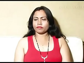 Indian long hair mom fuck by her friend