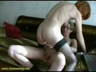 Amateur  Having some fun with sons friend