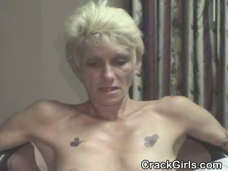 Rough Old Crack Whore Straight From The Streets Sucking Dick