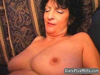 Granny sucking tiny dick