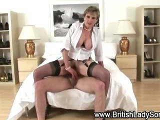 British slut pumped hard