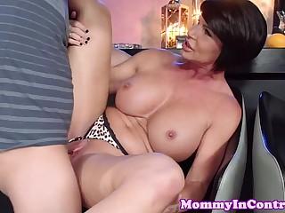 Tattooed busty milf Shay Fox - Moms in Control