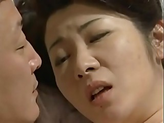 beautiful japanese mom seduce son