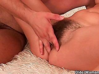 Hairy soccer mom needs a facial