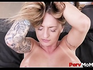 Big Ass Blonde MILF Stepmom With Big Tits Family Fuck With Stepson After A Long Day At Work