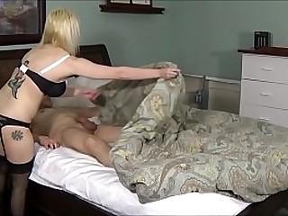 Son Cums Inside Big Boobed Mom