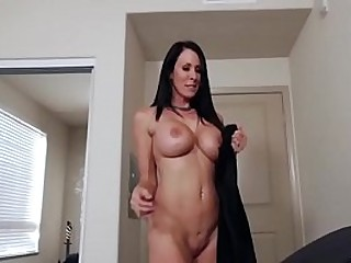 Mom's Knockers Turn Son On
