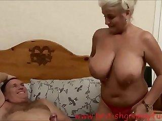 Robyn Ryder is getting boned in a nurse uniform on britishgrannyfuck.com