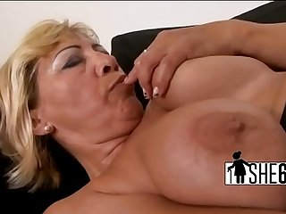 Dark cock stretching white cunt