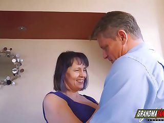 grandma with perfect big natural tits